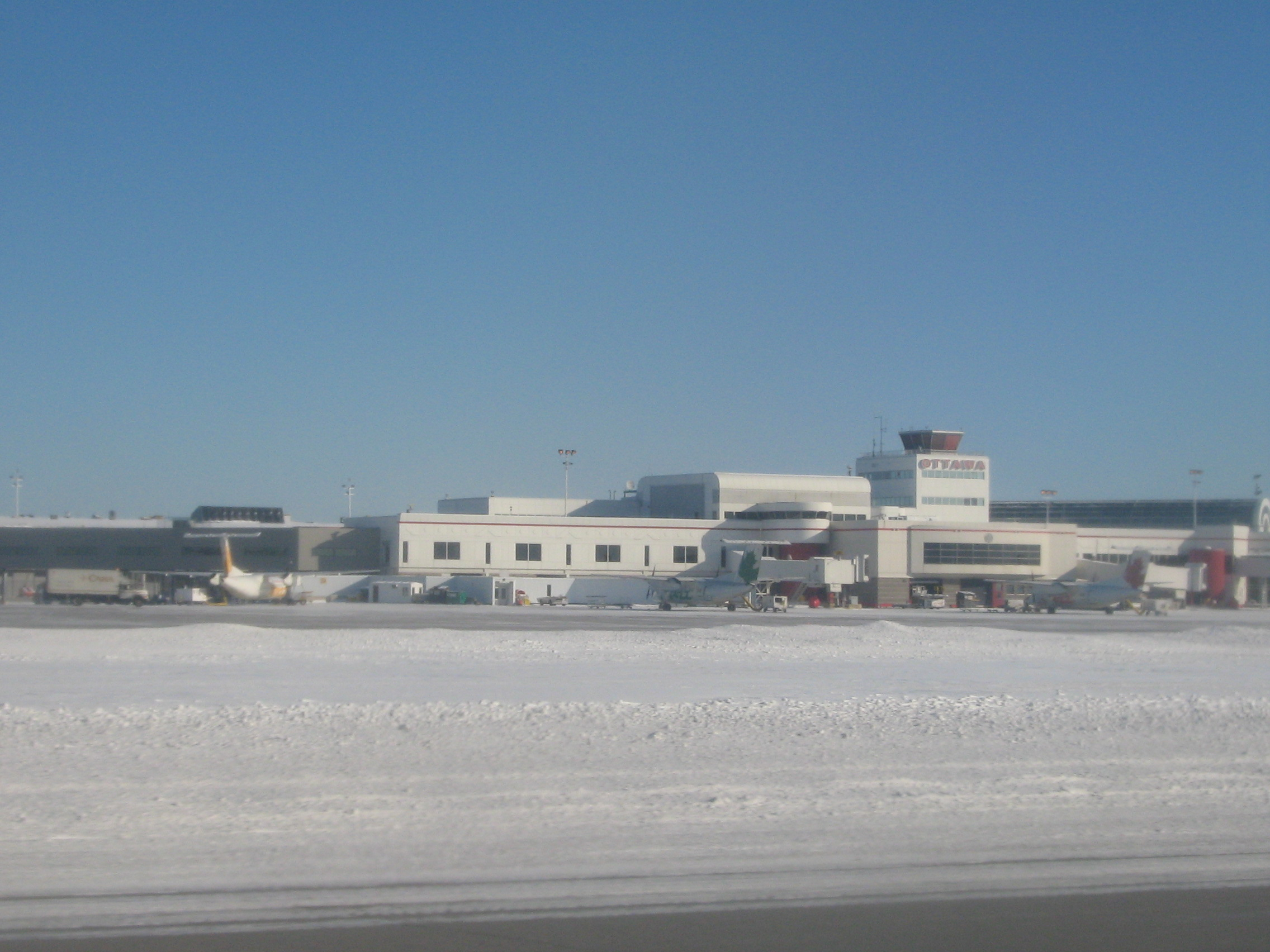 Ottawa Airport is the home base for First Air.